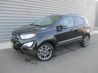Shadow Black 2018 Ford EcoSport SE 4WD 6-Speed