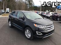 Shadow Black 2018 Ford Edge SEL FWD 6-Speed Automatic