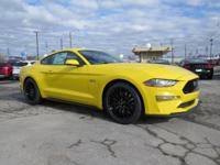 This 2018 Ford Mustang GT is Triple Yellow Tri-Coat