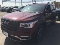 Crimson Red 2018 GMC Acadia SLT-2 FWD 6-Speed Automatic