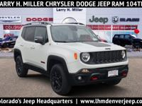 The 2018 Jeep Renegade is styled for urban adventure.