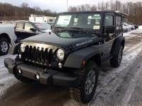 Black Clearcoat 2018 Jeep Wrangler JK Rubicon 4WD