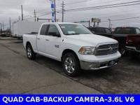 2018 Ram 1500 Big HornABS brakes, Compass, Electronic
