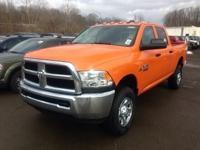 Orange 2018 Ram 2500 Tradesman 4WD 6-Speed Automatic