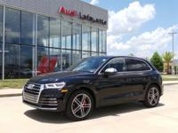 This outstanding example of a 2019 Audi SQ5 Premium