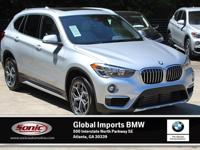 Delivers 32 Highway MPG and 23 City MPG! This BMW X1