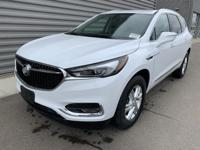 Summit White 2019 Buick Enclave Essence AWD 9-Speed