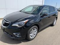 Ebony Twilight Metallic 2019 Buick Envision Preferred