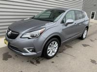 Satin Steel Gray Metallic 2019 Buick Envision Preferred