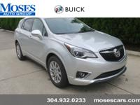 Galaxy Silver Metallic 2019 Buick Envision FWD 6-Speed