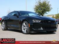 Black 2019 Chevrolet Camaro 1LT RWD 8-Speed Automatic
