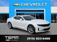 2019 Chevrolet Camaro 2LT 2LT Summit White 2019