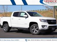 Summit White 2019 Chevrolet Colorado Z71 4WD 8-Speed