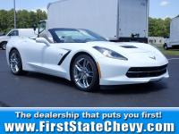 New Price! Arctic White 2019 Chevrolet Corvette