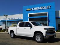 Summit White 2019 Chevrolet Silverado 1500 LT 4WD