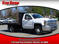 2019 Silverado 3500 Regular Cab, 2wd, 10' Flat Bed, 6.6
