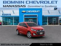 Red 2019 Chevrolet Spark LS FWD CVT 1.4L DOHCYou may