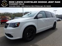 White 2019 Dodge Grand Caravan SE FWD 6-Speed Automatic
