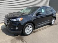 Black 2019 Ford Edge SEL AWD 8-Speed Automatic 2.0L