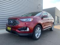 2019 Ford Edge SEL AWD Ruby Red AWD. 2.0LAsk about our