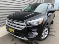 Black 2019 Ford Escape SE 4WD 6-Speed Automatic
