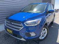 Lightning Blue 2019 Ford Escape SEL 4WD 6-Speed