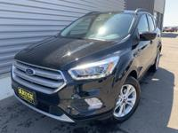 Black 2019 Ford Escape SEL 4WD 6-Speed Automatic