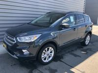 Sea Green 2019 Ford Escape SEL 4WD 6-Speed Automatic