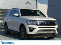 2019 Ford Expedition XLT White Metallic 4WD. 2019 Ford
