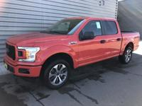 Race Red 2019 Ford F-150 XL 4WD 10-Speed EcoBoost 2.7L