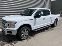 2019 Ford F-150 XLT 4WD Oxford White 4WD. 5.0L V8