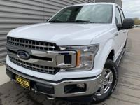 2019 Ford F-150 XLT 4WD Oxford White 4WD. EcoBoost 3.5L