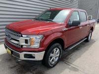 2019 Ford F-150 XLT 4WD Ruby Red 4WD. EcoBoost 3.5L V6