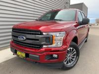 2019 Ford F-150 XLT 4WD Ruby Red 4WD, ABS brakes,