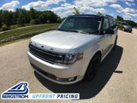 Ingot Silver 2019 Ford Flex SEL AWD 6-Speed Automatic