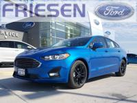 Velocity Blue Metallic 2019 Ford Fusion SE FWD 6-Speed