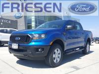 Lightning Blue Metallic 2019 Ford Ranger XL 4WD