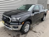 2019 Ford Ranger XLT 4WD Shadow Black 4WD. EcoBoost