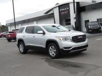 Quicksilv Met 2019 GMC Acadia SLE-1 FWD 6-Speed