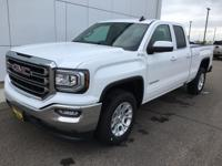 Summit White 2019 GMC Sierra 1500 Limited SLE 4WD