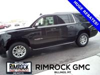 2019 GMC Yukon XL SLT Onyx Black 4WD 6-Speed Automatic