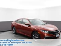 This outstanding example of a 2019 Honda Civic Sedan EX