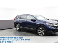 This outstanding example of a 2019 Honda CR-V EX is