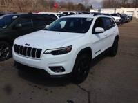 Bright White Clearcoat 2019 Jeep Cherokee Altitude 4WD