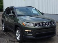 Olive Green 2019 Jeep Compass Latitude 4WD 9-Speed