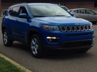 Laser Blue 2019 Jeep Compass Latitude 4WD 9-Speed 948TE