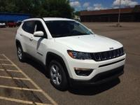 White Clearcoat 2019 Jeep Compass Latitude 4WD 9-Speed