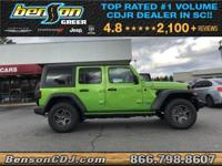 Mojito! Clearcoat 2019 Jeep Wrangler Unlimited Sport S