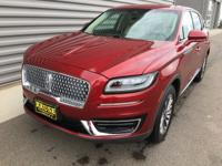 2019 Lincoln Nautilus Select AWD Ruby Red 2.7L V6Ask