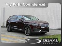 Burgundy 2019 Lincoln Nautilus Black Label Mutli